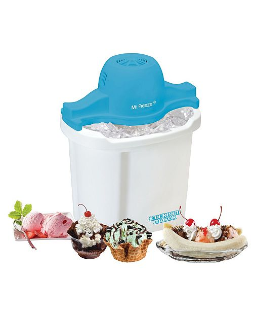 Elite by Maxi-Matic Mr. Freeze 4 Quart Electric Ice Cream Maker
