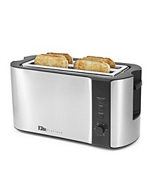 Elite Platinum Stainless Steel 4 Slice Long Slot Toaster
