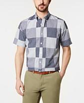 327783e5 Brooks Brothers Men's Madras Patchwork Shirt
