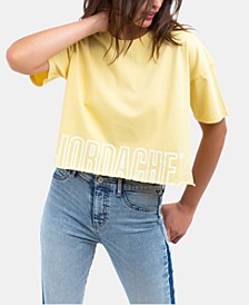 Kimberly Cotton Cropped Logo T-Shirt