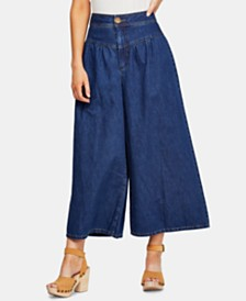 Free People La Bomba Wide-Leg Jeans