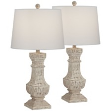 Pacific Coast Poly Table Lamps - Set of 2