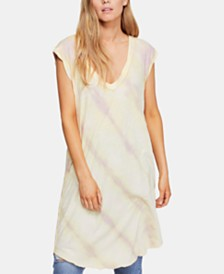 Free People Breezy Point Tie-Dye Tunic