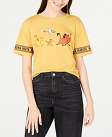 Juniors' The Lion King Graphic-Print T-Shirt