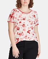 76c8bde8d0c47 Lauren Ralph Lauren Plus Size Cotton T-Shirt