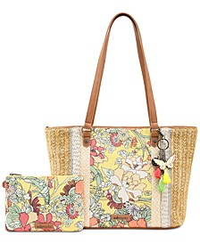 Meadow Straw Tote