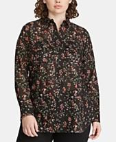 c677fe55e34d Ralph Lauren Plus Size Clothing - Lauren Ralph Lauren - Macy s