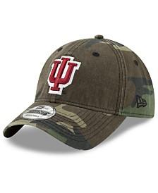 New Era Indiana Hoosiers Woodland Classic Twill 9TWENTY Strapback Cap