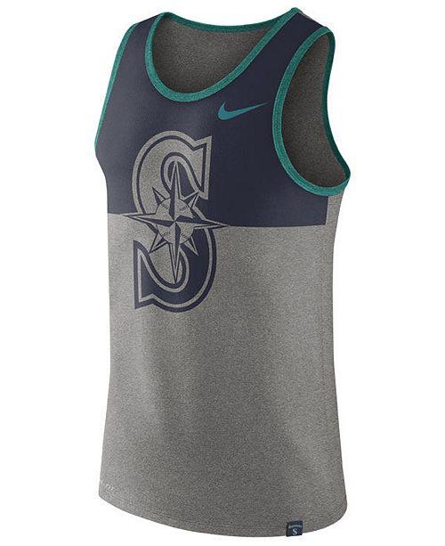Nike Men's Seattle Mariners Dry Tank