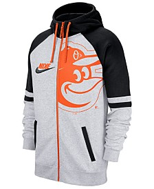 Nike Men's Baltimore Orioles Walkoff Full-Zip Hoodie