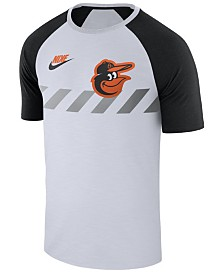 Nike Men's Baltimore Orioles Walkoff Raglan T-Shirt