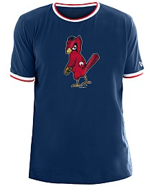 New Era Men's St. Louis Cardinals Ringer Crew Top