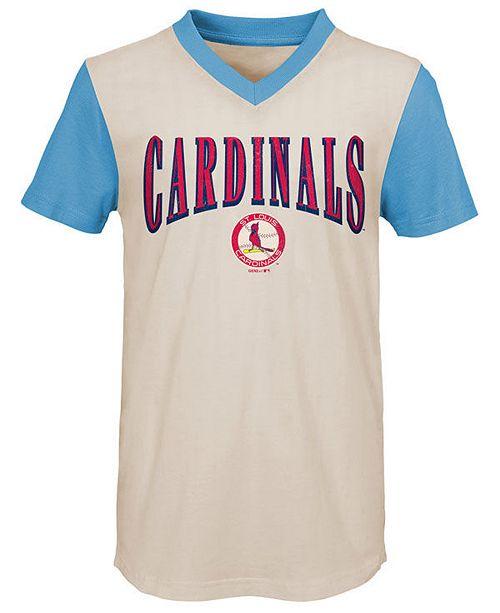 Outerstuff Big Boys St. Louis Cardinals Cooperstown Heavy Hitter T-Shirt