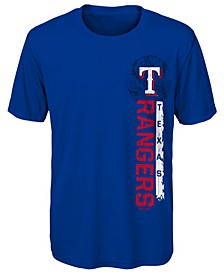 Little Boys Texas Rangers Game Grit T-Shirt