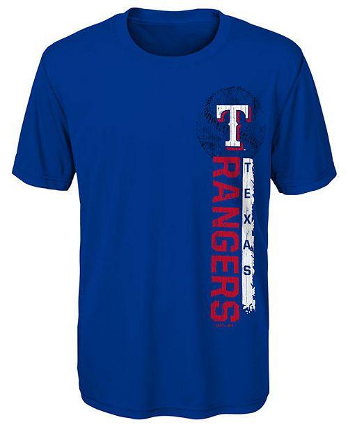 Outerstuff Little Boys Texas Rangers Game Grit T-Shirt