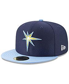New Era Boys' Tampa Bay Rays Batting Practice 59FIFTY Cap