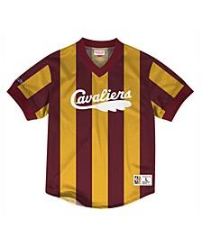 Men's Cleveland Cavaliers Kicking It Wordmark Mesh T-Shirt