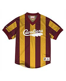 Mitchell & Ness Men's Cleveland Cavaliers Kicking It Wordmark Mesh T-Shirt