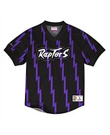 Men's Toronto Raptors Kicking It Wordmark Mesh T-Shirt