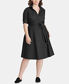 Lauren Ralph Lauren Plus Size Shirtdress