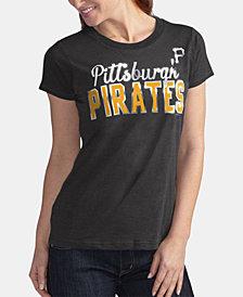 G-III Sports Women's Pittsburgh Pirates Homeplate T-Shirt