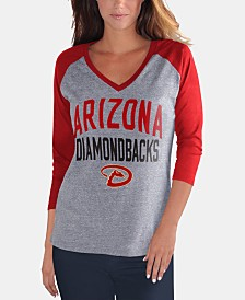 G-III Sports Women's Arizona Diamondbacks It's a Game Raglan T-Shirt