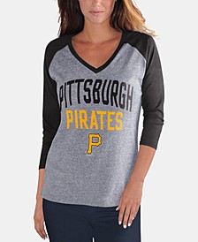 Women's Pittsburgh Pirates It's a Game Raglan T-Shirt