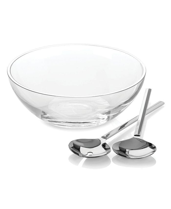 Kate Spade - Salad Bowl Set w/Metal Servers