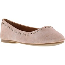 Little & Big Girls Carson Tri Stud Flats