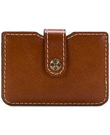 Patricia Nash Moena Heritage Leather Card Holder