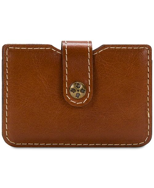 Patricia Nash Moena Heritage Leather Card Holder