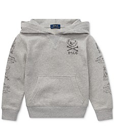 Polo Ralph Lauren Big Boys Polo Bear French Terry Cotton Hoodie