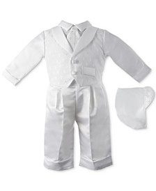 Baby Boys 3-Pc. Tuxedo Christening Set