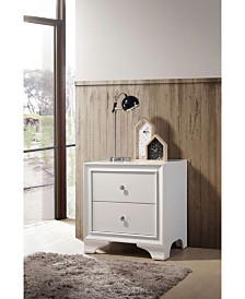 Blaise Nightstand with 2 Drawers