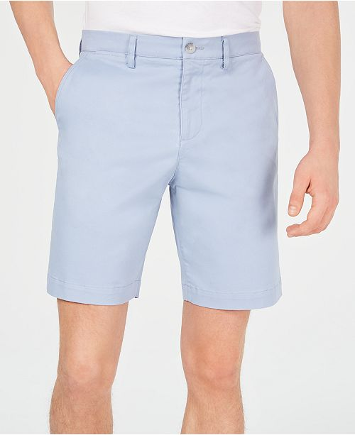 "Lacoste Men's Classic-Fit Stretch Twill 8.5"" Chino Shorts"