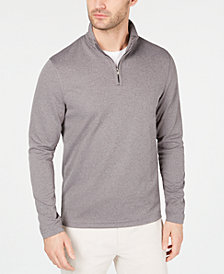 Alfani Men's Textured Quarter-Zip Sweater, Created for Macy's