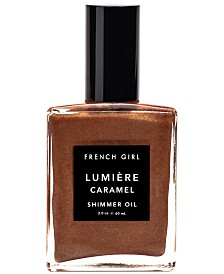 French Girl Lumière Caramel Shimmer Oil, 2-oz.