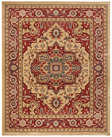 Mahal Red and Natural 8' x 10' Area Rug