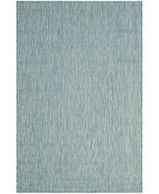 Courtyard Aqua 8' x 11' Sisal Weave Area Rug