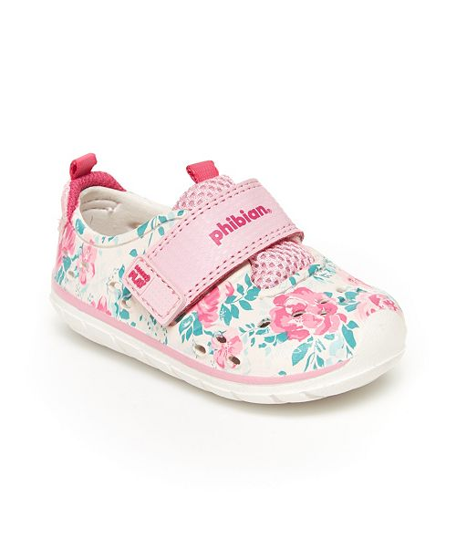 Stride Rite Baby & Toddler Girls M2P Phibian Baby Sneakers