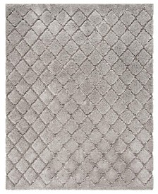 Safavieh Adriana Shag Light Gray 8' x 10' Area Rug