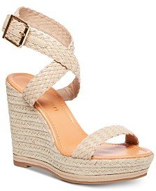 Madden Girl Narla Woven Platform Wedge Sandals
