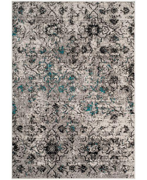 Safavieh Adirondack Gray and Black 4' x 6' Area Rug
