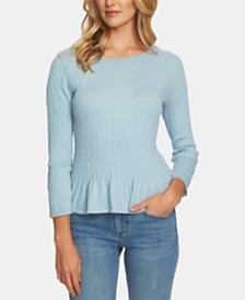 CeCe Peplum Sweater