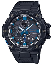 G-Shock Women's Solar Blue Note Black Resin Strap Watch 53.8mm - A Limited Edition