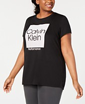 31a1c3aa11228 Calvin Klein Plus Size Workout Clothes, Activewear & Athletic Wear ...