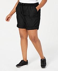Plus Size Cargo Shorts