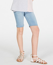 Big Girls Denim Bermuda Shorts, Created for Macy's