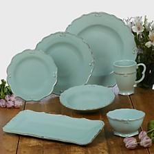 Certified International Vintage Blue Dinnerware Collection