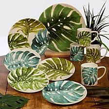 Palm Leaves Dinnerware Collection